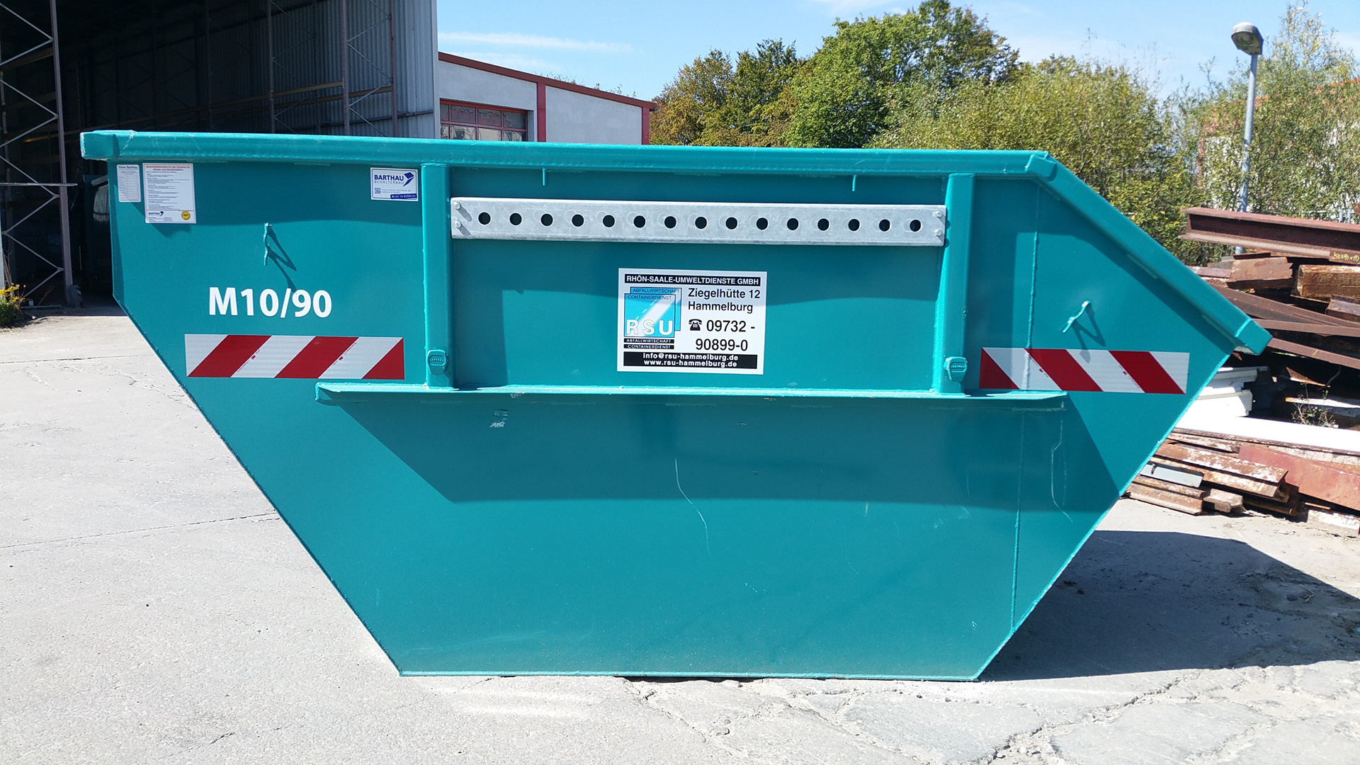 Absetzcontainer 10 m³