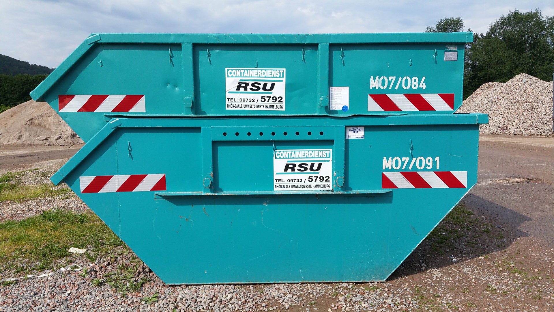 Absetzcontainer 7m³