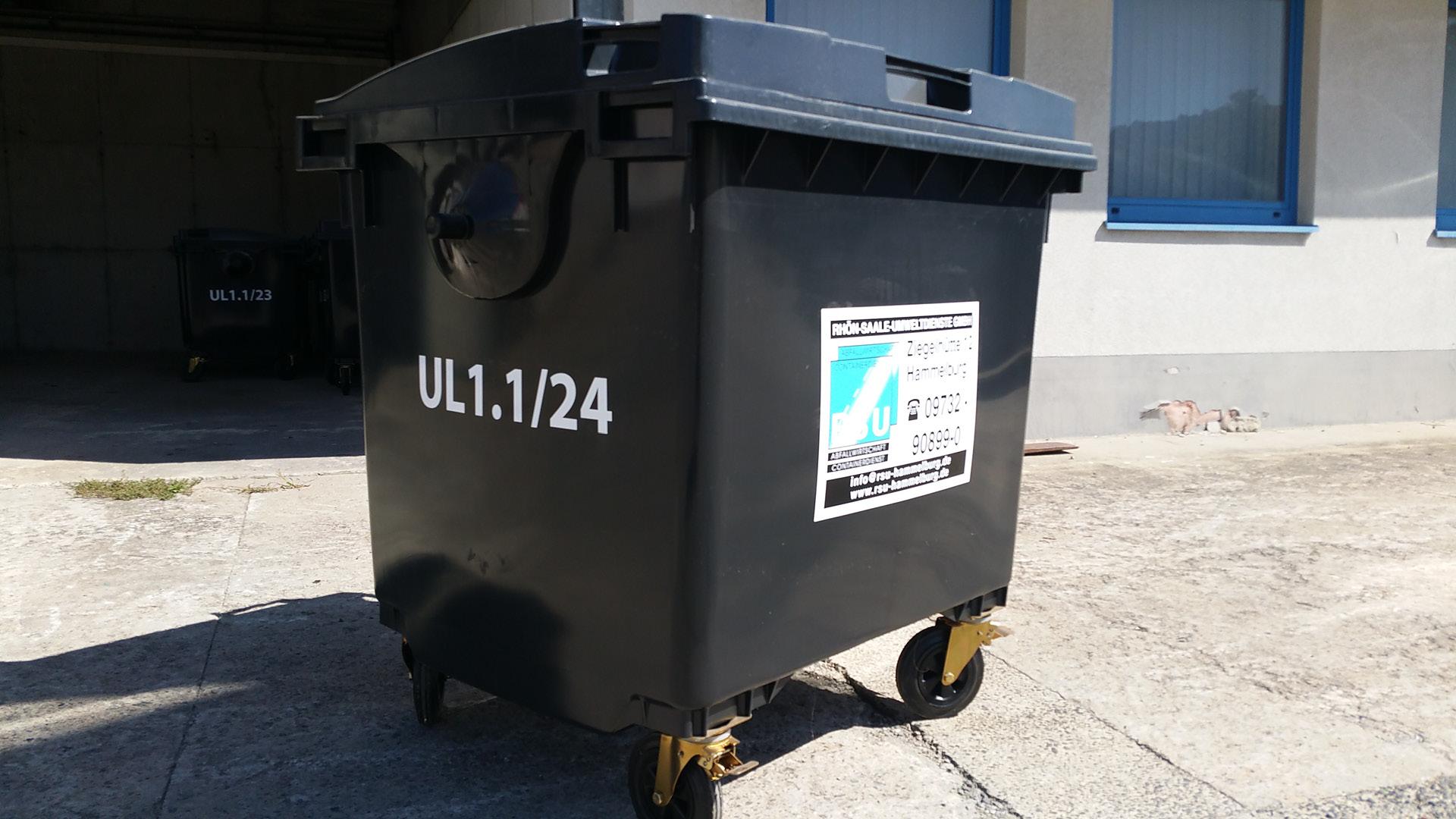 Umleercontainer 1,1 m³